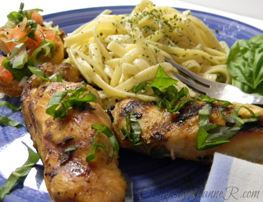 Basil, Lemon & Peppercorn Chicken