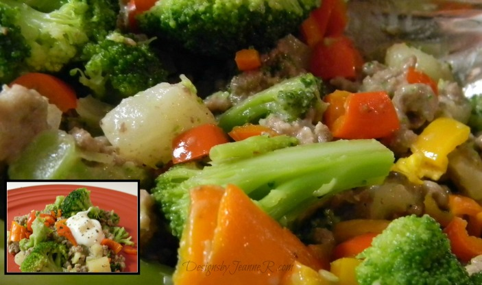 Ground Beef & Broccoli Curry