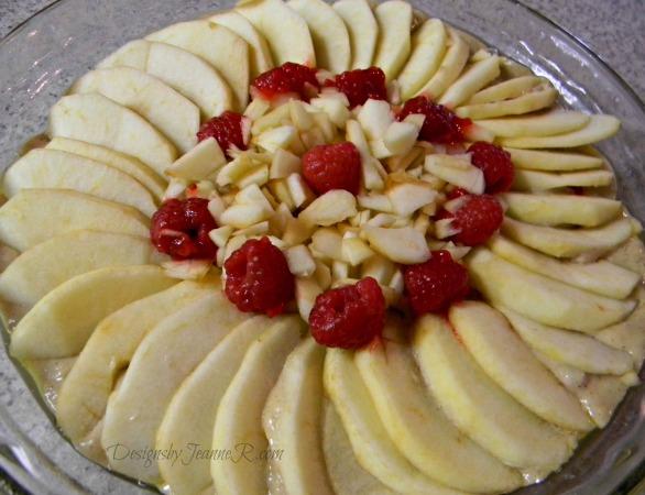Apple Raspberry Coffee Cake