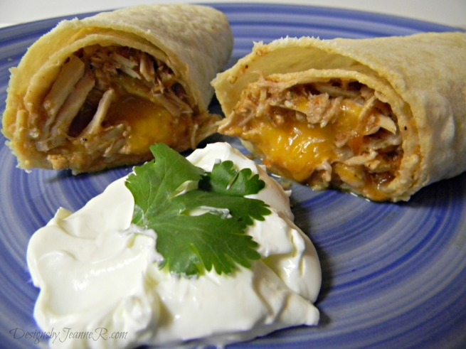 Pork Carnitas Burritos