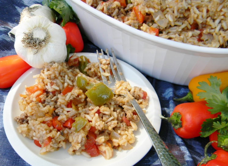 Hearty Spanish Rice with Beef