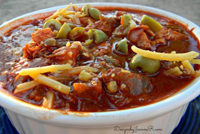 Chciken Stew, Enchilada Style