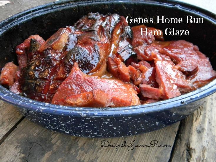 Gene's Home Run Ham Glaze