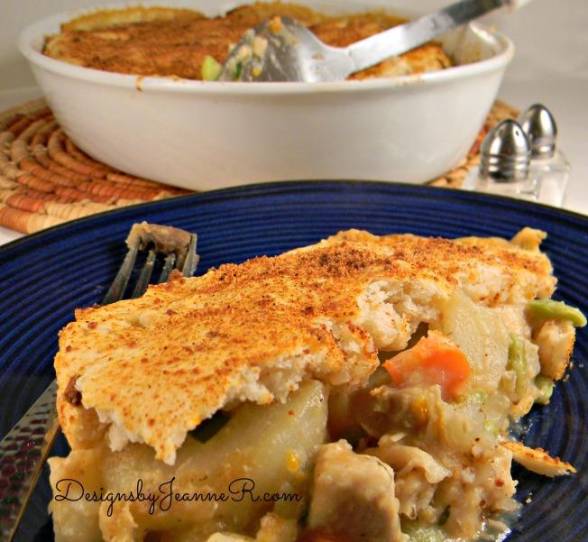 Top Crust Chicken Pot Pie