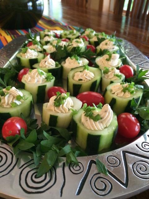 Jill's Cucumber Cups