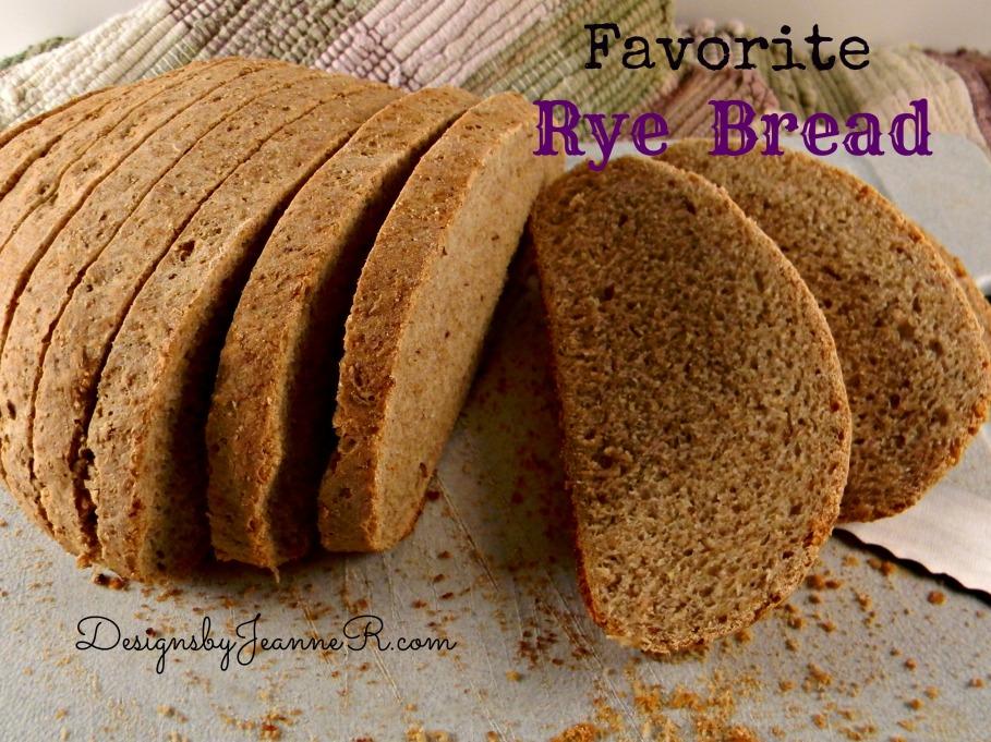 Favorite Rye Bread
