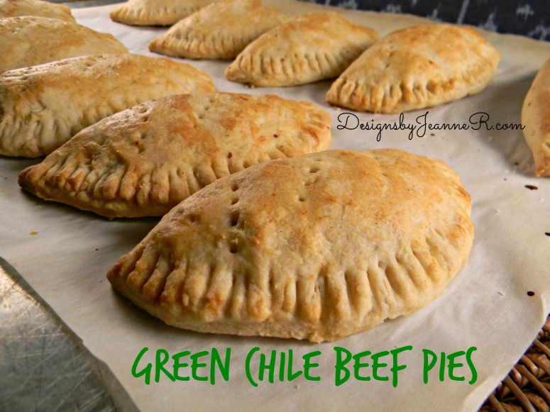 Green Chile Beef Pies
