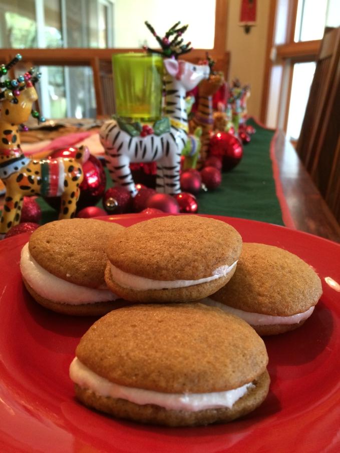 Pumpkin Whoopie Pie Cookies