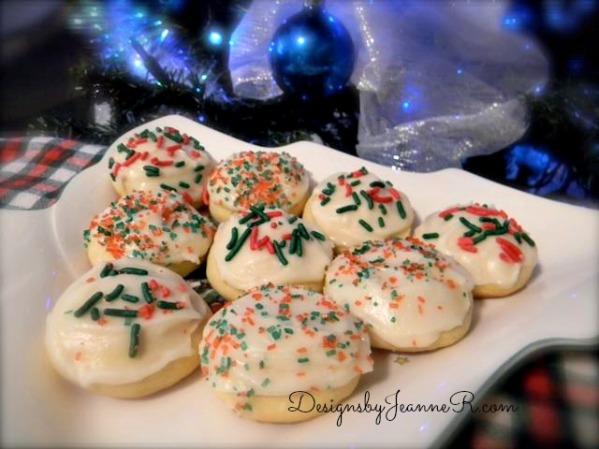 Soft Vanilla Sugar Cookie