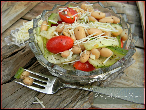 Seasoned Cannelli Bean Salad