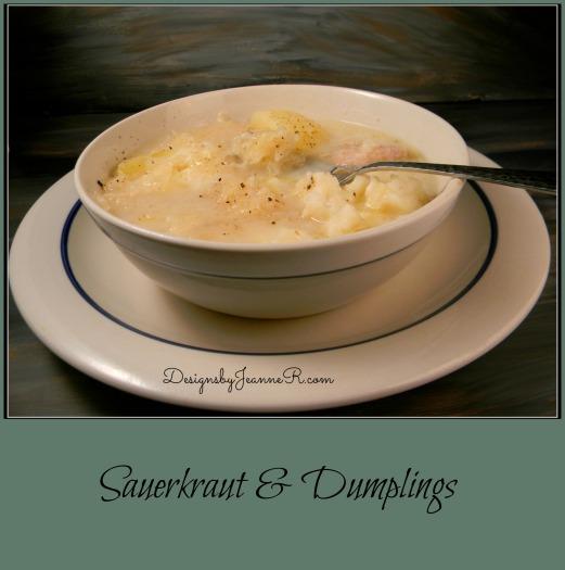 Sauerkraut & Dumplings