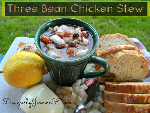 Three Bean Chicken Stew
