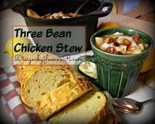 Three Bean Chicken Stew