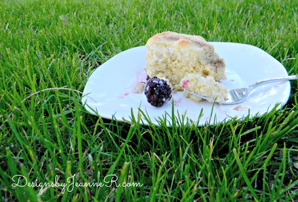 Savory Blackberry Spoon Bread